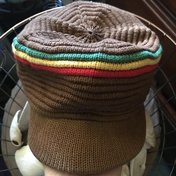 Nye Accessories Crocheted Rasta Beanie Hat Poshmark